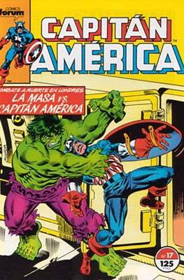 Capitán América vol. 1 / Marvel Two-in-one: Capitán America & Thor vol. 1 (1985-1992) (Grapa 32-64 pp) #17