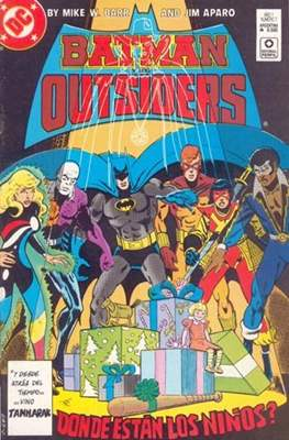 Batman y los Outsiders (Grapa) #7