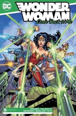 Wonder Woman: Come Back to Me (Comic Book) #5