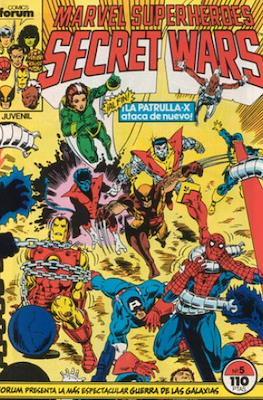 Secret Wars (1985-1987) (Grapa 32 pp) #5