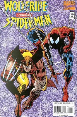 Wolverine versus Spiderman
