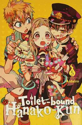 Hanako-kun: El fantasma del lavabo (Rústica) #5