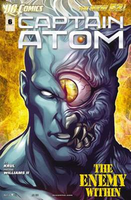 Captain Atom The New 52! (2011-2012) #6