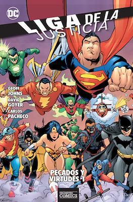 Liga de la Justicia: Pecados y Virtudes (Rústica) #1
