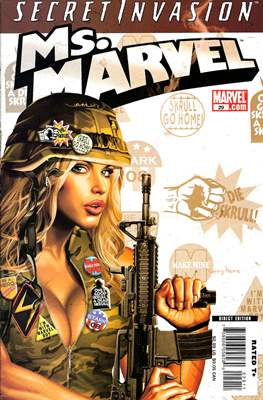 Ms. Marvel (Vol. 2 2006-2010) (Comic Book) #29