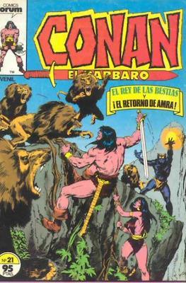 Conan el Bárbaro (1983-1994) (Grapa. 19x27. 36/32/24 páginas. Color.) #21