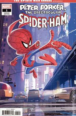 The Spider-Man Annual Presents Peter Porker The Spectacular Spider-Ham (Variant Cover) #1.3