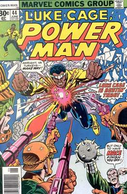 Hero for Hire / Power Man Vol 1 / Power Man and Iron Fist Vol 1 (Comic Book) #44