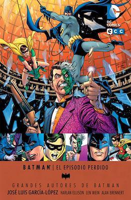 Grandes Autores de Batman: José Luís García-López. El episodio perdido