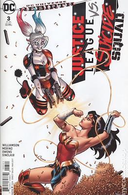 Justice League vs Suicide Squad. Variant Covers (Comic Book) #3