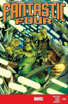 Fantastic Four Vol. 4 (Comic Book) #14