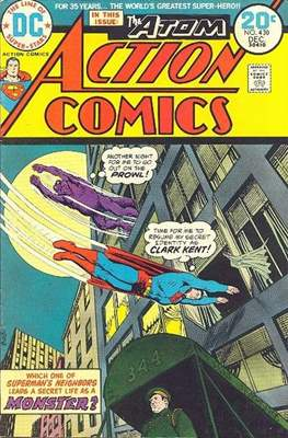 Action Comics Vol. 1 (1938-2011; 2016-) (Comic Book) #430