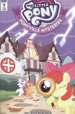 My Little Pony: Ponyville Mysteries (Variant Cover) (Comic Book) #1