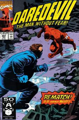 Daredevil Vol. 1 (1964-1998) (Comic Book) #291