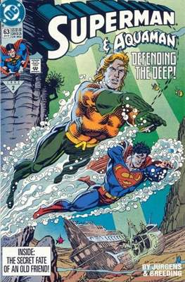 Superman Vol. 2 (1987-2006) (Comic Book) #63