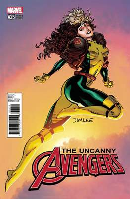 The Uncanny Avengers Vol. 3 (2015-2018 Variant Cover) (Comic Book) #25