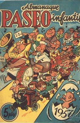 Almanaque Paseo Infantil 1957