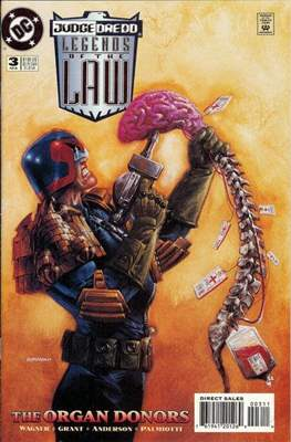 Judge Dredd Legends of the Law (Cómic grapa) #3