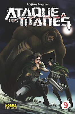 Ataque a los Titanes (Rústica con sobrecubierta) #9