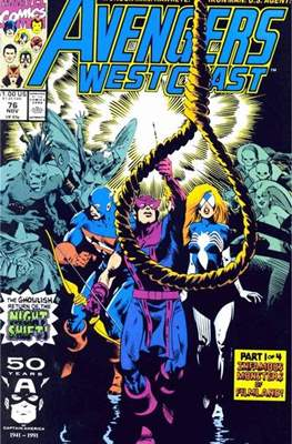 West Coast Avengers Vol. 2 (Comic-book. 1985 -1989) #76