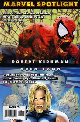 Marvel Spotlight: Robert Kirkman/Greg Land