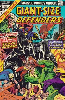 Giant-Size Defenders (Comic-Book) #2
