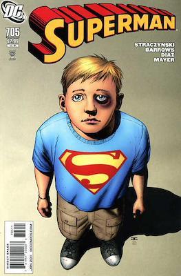 Superman Vol. 1 / Adventures of Superman Vol. 1 (1939-2011) (Comic Book) #705