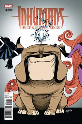 Inhumans - Once & Future Kings (Variant Covers) #1.3