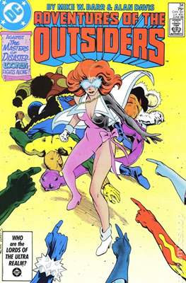 Batman and the Outsiders (1983-1987) (Comic Book) #34