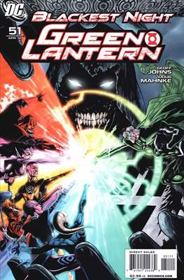 Green Lantern Vol. 4 (2005-2011) (Comic book) #51