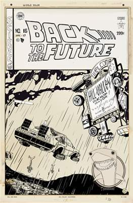 Back to the Future. (Variant Cover) #2