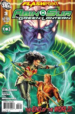 Flashpoint: Abin Sur the Green Lantern (Grapa) #3