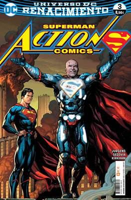 Superman: Action Comics. Renacimiento (Rústica 96 pp) #3