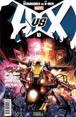 AvsX: Vengadores vs X-Men #10