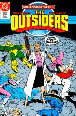 The Outsiders (1985-1988) (Comic Book) #27