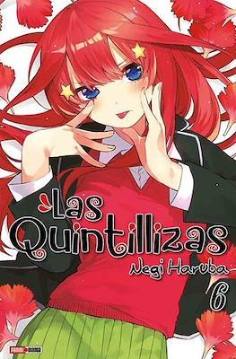 Las Quintillizas (Go-Toubun no Hanayome) (Rústica con sobrecubierta) #6