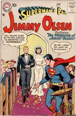 Superman's Pal, Jimmy Olsen / The Superman Family (Comic Book) #21