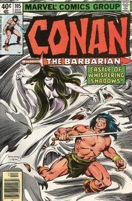 Conan The Barbarian (1970-1993) (Comic Book 32 pp) #105
