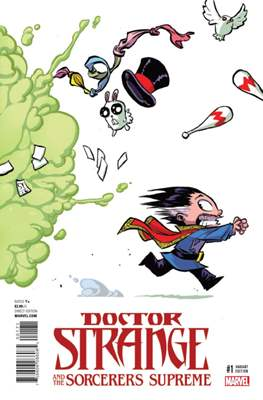 Doctor Strange and the Sorcerers Supreme (Comic Book) #1.2