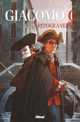 Giacomo C. - Retour à Venise (Cartonné 56 pp) #2