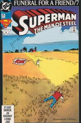 Superman: The Man of Steel (Comic book) #21