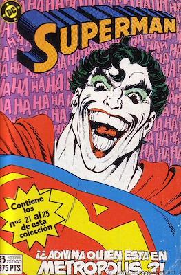 Superman (1984) (Retapado, Tomo rústica) #13
