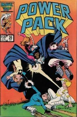 Power Pack (1984-1991; 2017) (Grapa) #26