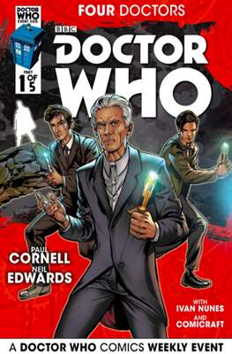 Doctor Who: Four Doctors (Comic Book) #1