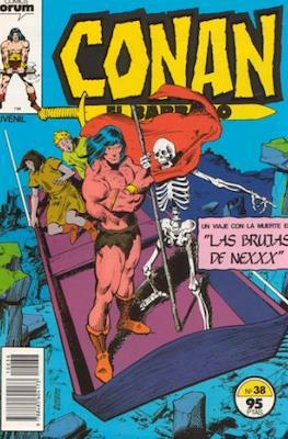 Conan el Bárbaro (1983-1994) (Grapa. 19x27. 36/32/24 páginas. Color.) #38