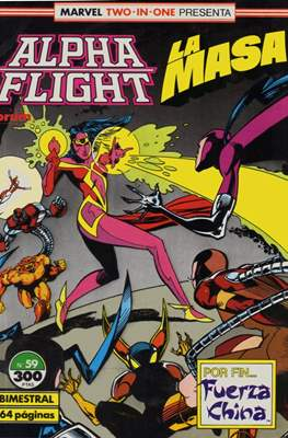 Alpha Flight vol. 1 / Marvel Two-in-one: Alpha Flight & La Masa vol.1 (1985-1992) (Grapa 32-64 pp) #59