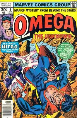 Omega The Unknown (Comic Book. 1976 - 1977) #8