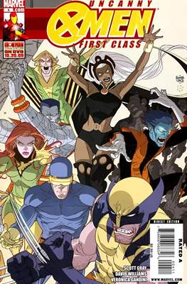 Uncanny X-Men: First Class (Comic Book) #4