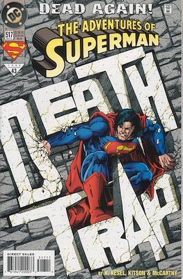 Superman Vol. 1 / Adventures of Superman Vol. 1 (1939-2011) (Comic Book) #517