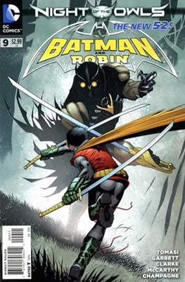 Batman and Robin Vol. 2 (2011-2015) (Comic-Book) #9